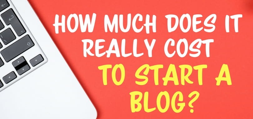 Cost of starting a blogging business