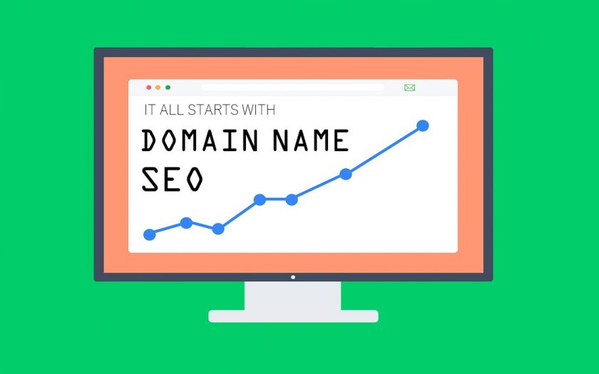 How domain name affects seo of a website