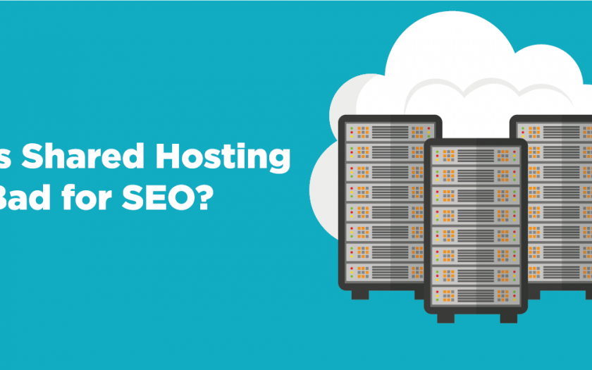 Does shared hosting affect seo?