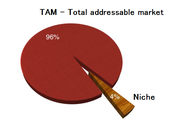 Niche and Total Addressable market