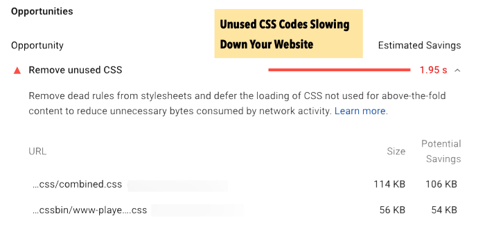Remove Unused CSS and Dead Rules From StyleSheets